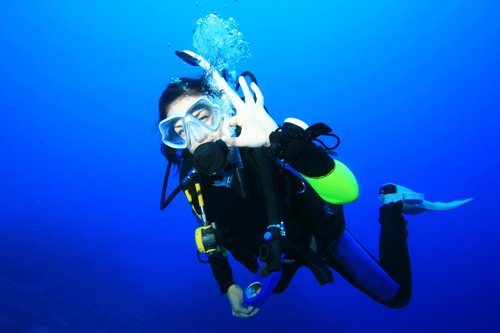 OWD - Open Water Diver beginner scuba diving course
