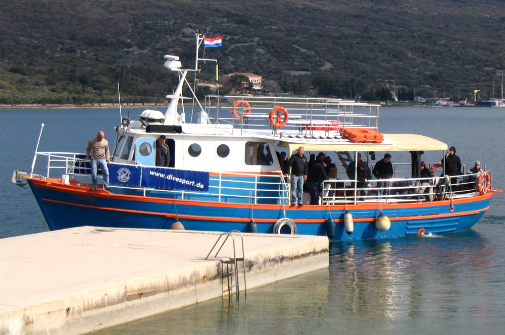 VOJGA | Full day diving trips | DIVE CENTER KRK | Croatia