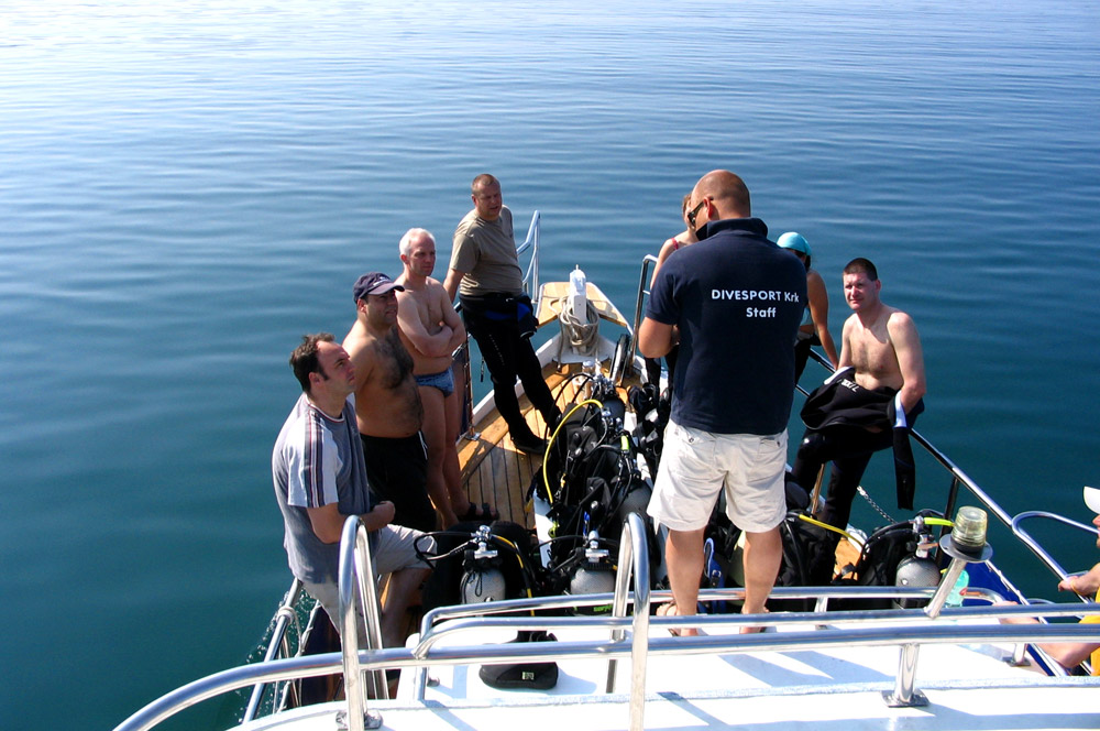 Single dive trips and wreck diving | DIVE CENTER KRK | Croatia