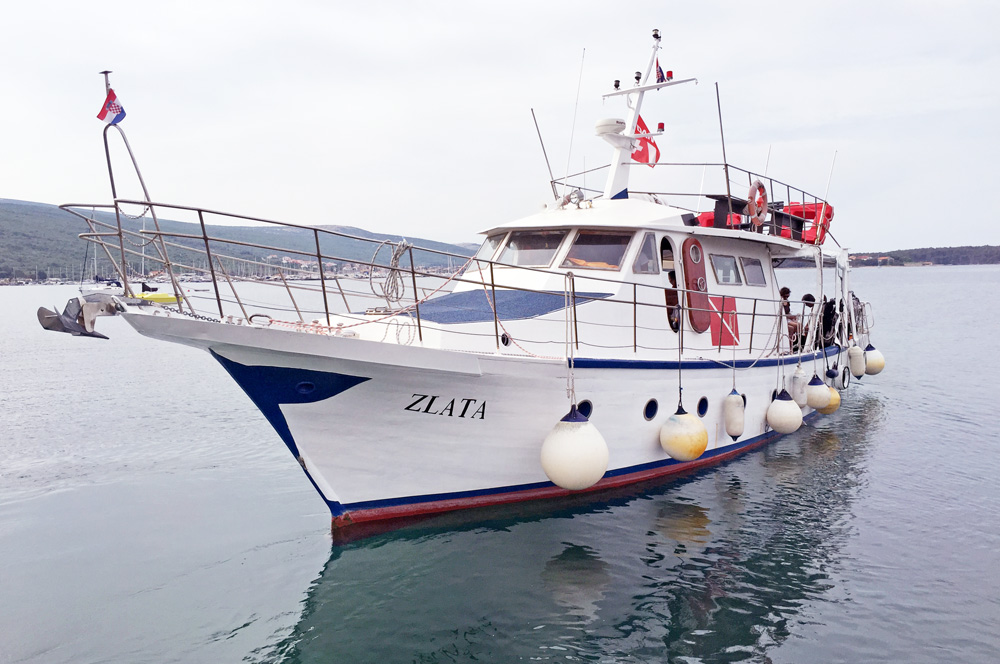 ZLATA | Full day diving trips | DIVE CENTER KRK | Croatia