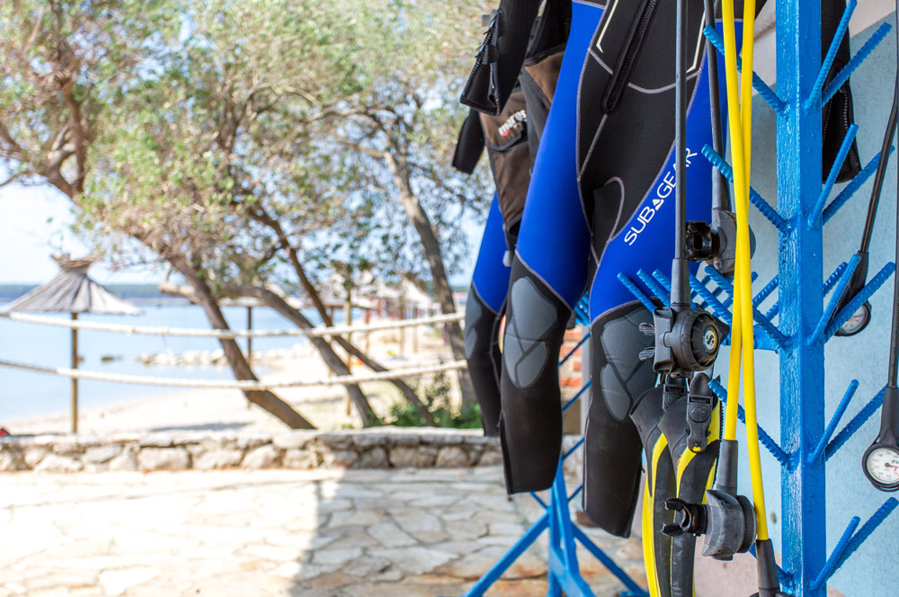 Scuba diving equipment | DIVE CENTER KRK | Croatia