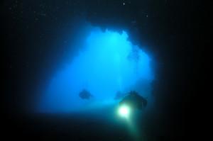 Höhle Big Cave Insel Cres